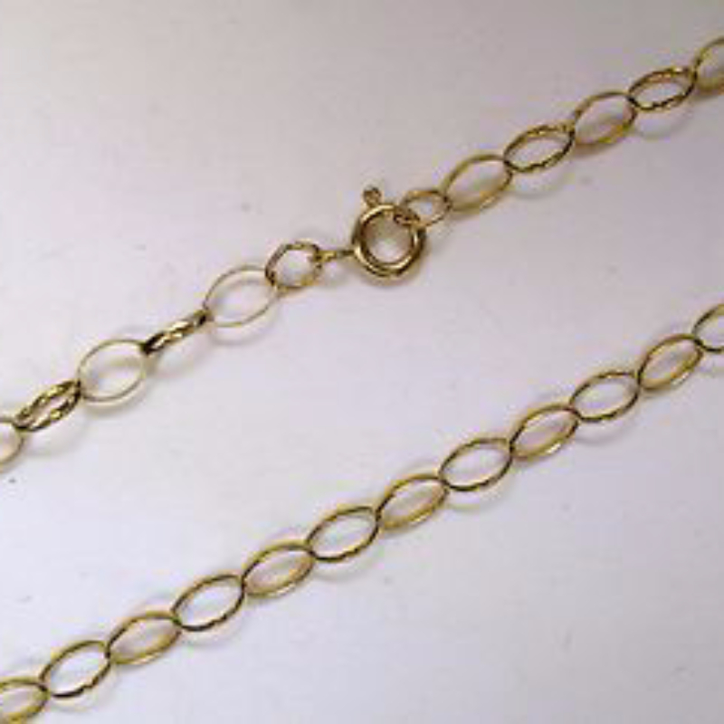 product chain co yellow necklace gold link tiffany oval tco