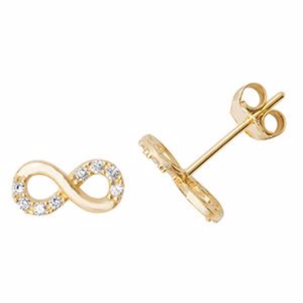 heath mellor kit infinity image david earrings jewellery from stud