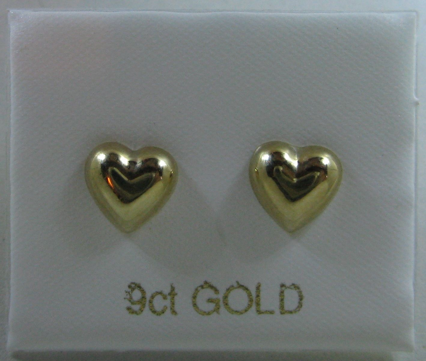 goodwins shaped heart white gold from earrings stud ladies image