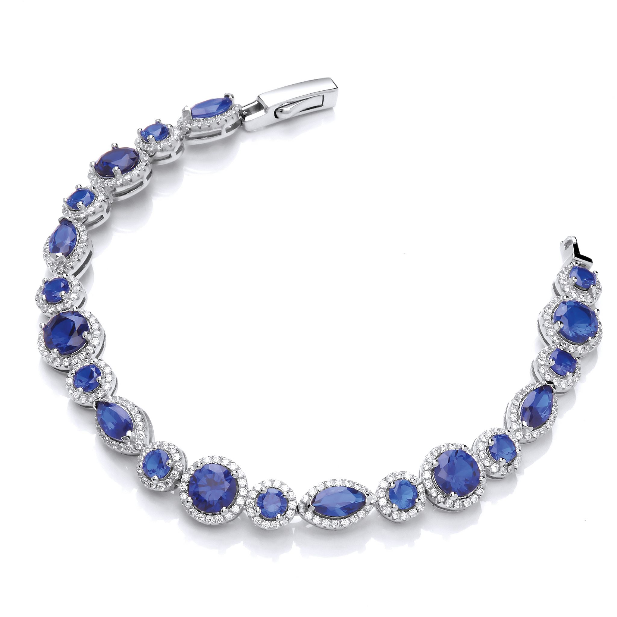 scroll marquise set and jewellery pin brooch stylised with diamond design sapphire of
