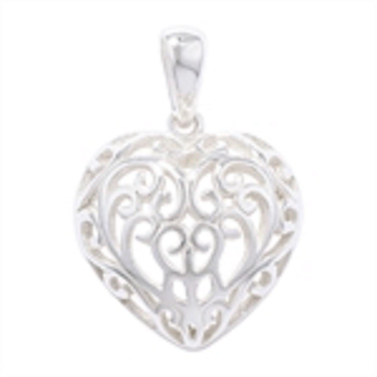 mirror square exclusive filigree silver product