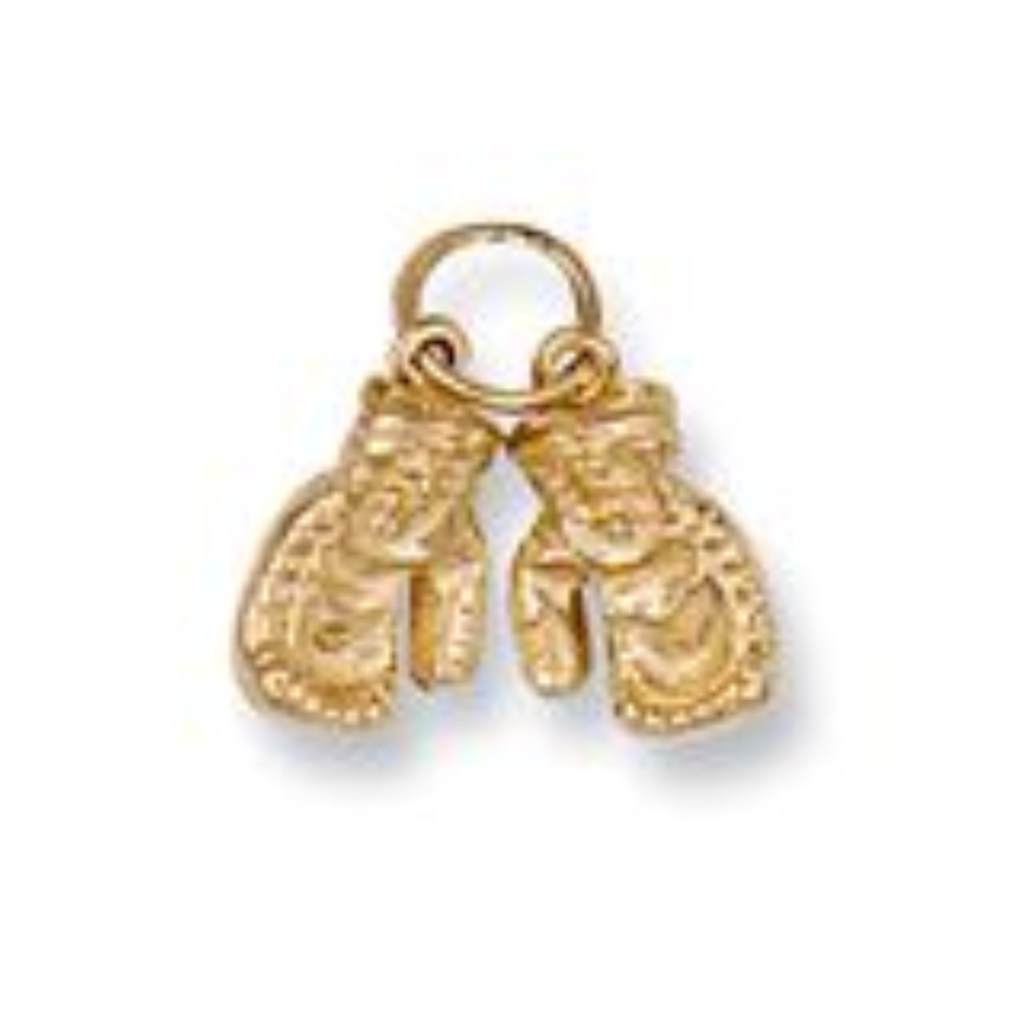 9ct gold pair of boxing gloves pendant 3g aloadofball Image collections