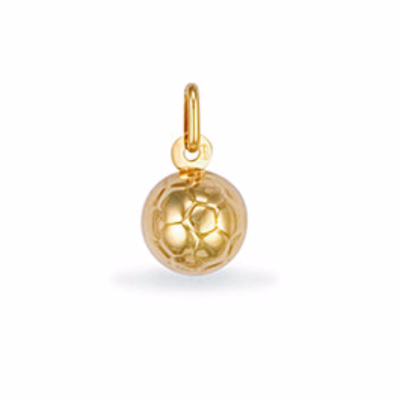 9ct gold small lightweight football pendant 08g aloadofball Image collections